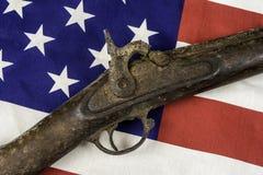 古色古香的枪 免版税库存图片