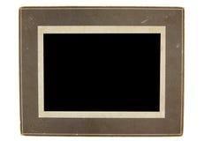 古色古香的框架照片 免版税库存照片