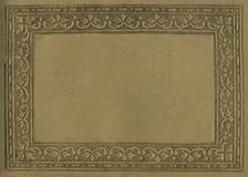 古色古香的框架纸张 免版税库存图片