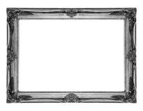 古色古香的框架老银 免版税库存图片