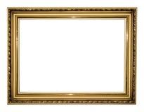 古色古香的框架金子 库存图片