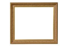 古色古香的框架金照片机智 库存图片