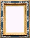 古色古香的框架金照片 免版税库存照片