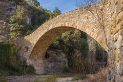 古色古香的桥梁 免版税库存照片