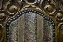 古色古香的椅子关闭 免版税库存图片