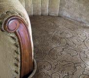 古色古香的椅子端 库存图片