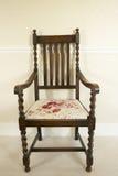 古色古香的椅子 图库摄影