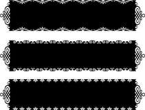古色古香的横幅 免版税图库摄影