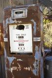 古色古香的气泵 免版税库存照片