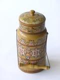 古色古香的水罐牛奶 免版税库存图片