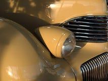 古色古香的汽车详细资料 库存照片