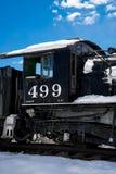 古色古香的火车里约格朗德 图库摄影