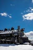 古色古香的火车里约格朗德 免版税库存图片