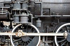 古色古香的火车 免版税库存图片