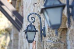 古色古香的灯笼 免版税库存照片