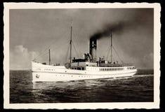 古色古香的照片火轮弗里西亚我海上 图库摄影