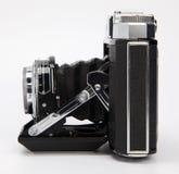 古色古香的照相机影片 库存照片
