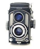 古色古香的照相机日本人tlr 免版税库存图片