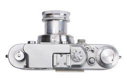 古色古香的照相机测距仪顶视图 库存图片