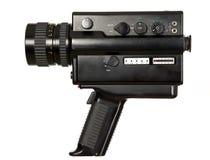 古色古香的照相机老录影 免版税图库摄影