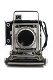 古色古香的照相机老照片 图库摄影