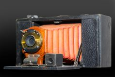 古色古香的照相机 免版税库存照片