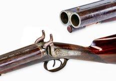 古色古香的牛仔猎枪 免版税库存照片