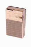 古色古香的特写镜头收音机晶体管 免版税库存照片