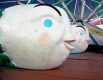 古色古香的狂欢节乘驾 免版税库存照片