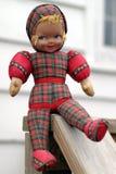 古色古香的玩偶法语 免版税库存图片