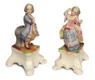 古色古香的玩偶瓷 图库摄影
