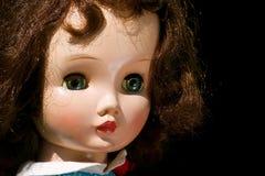 古色古香的玩偶表面 免版税库存图片