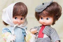 古色古香的玩偶 免版税库存照片