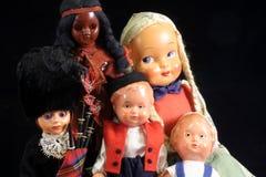 古色古香的玩偶 库存照片