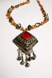 古色古香的珠宝部分 免版税图库摄影