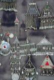 古色古香的珠宝银 免版税图库摄影