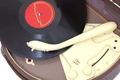 古色古香的电唱机 免版税库存图片