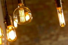 古色古香的电灯泡 库存照片