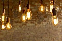 古色古香的电灯泡 免版税库存照片