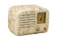 古色古香的电胶收音机06前面2 库存图片