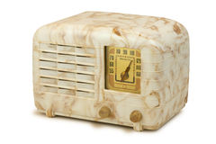 古色古香的电胶收音机06 免版税库存图片