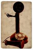古色古香的电话 库存图片