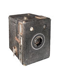 古色古香的相机盒 免版税库存图片