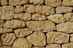 古色古香的石墙壁 免版税库存照片