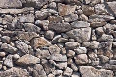 古色古香的石墙背景  免版税图库摄影