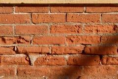 古色古香的砖墙 免版税库存照片