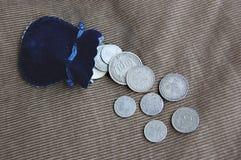 古色古香的硬币 图库摄影