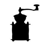 古色古香的磨咖啡器 免版税库存照片
