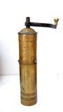古色古香的磨咖啡器 免版税图库摄影