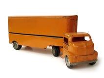 古色古香的移动玩具卡车 免版税库存图片